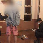 Arrestaron a un joven acusado de sustraer varios objetos de una vivienda en el barrio Norte