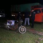 Recuperaron en Campo Viera una motocicleta robada en Colonia Alberdi y hay dos detenidos