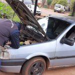 Incautaron un vehículo adulterado en Oberá