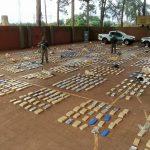 Gendarmería Nacional secuestró más de mil kilos de marihuana