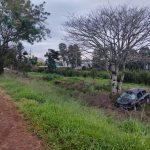 El despiste de un vehículo dejó un lesionado en Villa Bonita