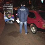 Secuestraron en Gobernador Roca un vehículo robado en Oberá
