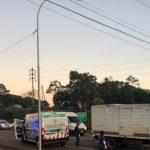 Un motociclista falleció tras un triple choque