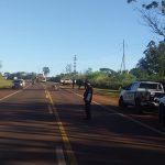 Siniestro vial dejó como resultado un motociclista lesionado