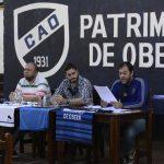 Francisco Fabio fue reelecto en Atlético Oberá