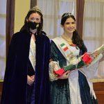 Italia presentó a Dalma Vargas Minuzzo como su nueva Reina