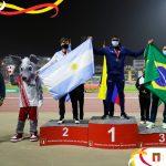 El atleta obereño Gastón Benítez sub campeón sudamericano