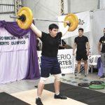 Oberá recibe a la cuarta fecha del campeonato de levantamiento de pesas