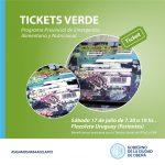 Entrega de Tickets Verdes