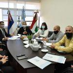 Reunión del jurado evaluador para elección de Secretarios
