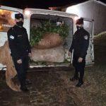 Incautaron más de 400 kilos de yerba mate robados en el Lote 72