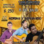 Show en vivo en el Pabellón Argentino