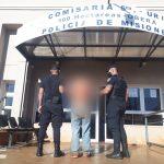 Fue detenido por ocasionar disturbios en el barrio San José de Oberá