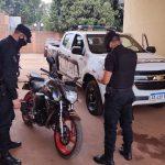 Mediante un rápido accionar se recuperó una motocicleta robada en el barrio Prosol