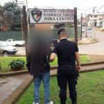 Trató de sustraer elementos del predio de una Iglesia y terminó detenido