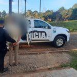 Un joven fue detenido acusado de robarle dinero a su hermano