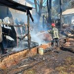 Investigan el incendio de una vivienda en el barrio Tiuchá