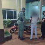 Evadió el control vehicular y fue detenido por la Policía