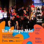 Se viene el espectáculo de La Inescuchable – Orquesta Comunitaria de la Murga del Monte