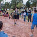 Niños, niñas y adolescentes, disfrutaron de un fin de semana cultural en Villa Cristen y Plaza Malvinas