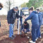 Plantación por el Día del Árbol