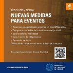 Protocolo de habilitación para realización de eventos