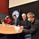 Firma de convenio entre el gobierno de la ciudad y la escuela del cuerpo de abogados del estado