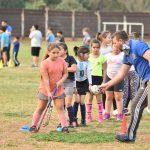 Escuelas municipales deportivas celebraron el Día de la Niñez