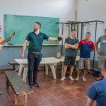 Concluyó el taller de música y guitarra para internos de la unidad penal II