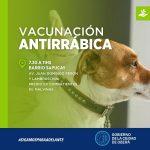 Vacunación Antirrábica en Barrio Sapucay