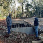 Sigue avanzando la construcción de la nueva cisterna del Troncal Norte de la ciudad