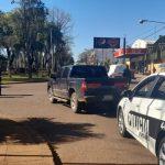 Colisión entre dos vehículos dejó daños materiales en Oberá