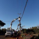 Personal de Redes Urbanas y Rurales realizaron distintos trabajos de reparaciones y mantenimiento preventivo