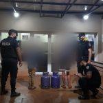 Recuperaron dos cilindros de gas robados en el barrio San Miguel de Oberá