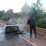 Choque entre un auto y una moto dejó un joven fallecido en Campo Viera