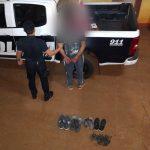 Recuperaron elementos robados de una vivienda y detuvo a un hombre