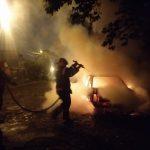 Bomberos sofocaron incendio de un vehículo en Oberá