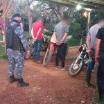 Interceptaron a seis automovilistas alcoholizados y a cuatro motociclistas por realizar picadas en Panambí