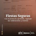 «Fiestas Seguras»: con el protocolo aprobado, regresan las celebraciones y eventos
