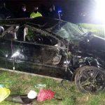 Obereño sobrevivió al vuelco de un auto en Entre Ríos, cuyo conductor murió en el acto