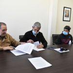 Firma de convenio para la ejecución de obras para el acceso al agua potable