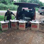 Gendarmería Nacional incautó estupefacientes, cigarrillos y cereales