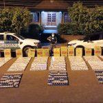 Gendarmería Nacional incautó gran cantidad de cigarrillos de origen extranjero y marihuana por más de seis millones de pesos