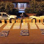 Gendarmería Nacional incautó estupefacientes, cigarrillos, vehículo y arma por un valor  superior a los seis millones de pesos