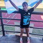 Martina Prierto, subcampeona sudamericana en lanzamiento de jabalina
