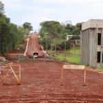 Avanzan obras en infraestructura urbana y saneamiento hídrico