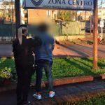 Arrestaron a un hombre acusado de agredir y amenazar de muerte a su  concubina