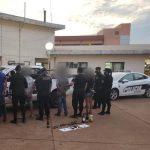 Atacaron a pedradas a policías y terminaron detenidos en Oberá