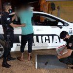 La Policía detuvo a tres hombres por violencia familiar