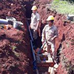 La CELO continúa trabajando para que más familias tengan acceso al agua potable